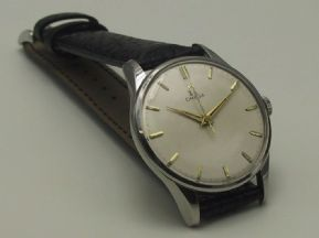 Omega Swiss Made Stainless Seamaster Watch Fully Serviced 12m Warranty c.1950